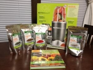 NutriBullet System with  Natural Healing Foods book and optional 30-day supply of SuperBoosts.